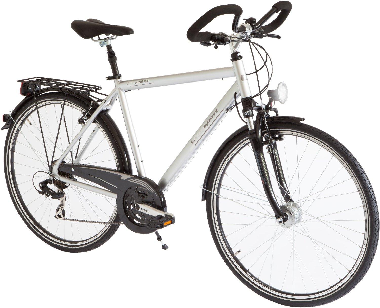 Wie viel Zoll sollte das Herrenrad haben?
